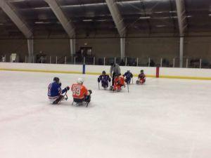 Flyers vs Warriors face-off